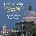 Zwei Fälle für Commissario Brunetti / Commissario Brunetti Bd.8+9, 2 MP3-CDs