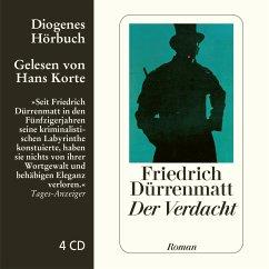 Der Verdacht, 4 Audio-CDs - Dürrenmatt, Friedrich