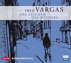 Das Zeichen des Widders / Kommissar Adamsberg Bd.3 (1 Audio-CD) - Vargas, Fred
