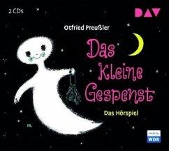 Das kleine Gespenst, 2 Audio-CDs - Preußler, Otfried