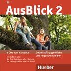 2 Audio-CDs zum Kursbuch / AusBlick, Deutsch für Jugendliche und junge Erwachsene Bd.2