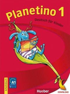 Planetino 1. Arbeitsbuch - Büttner, Siegfried; Kopp, Gabriele; Alberti, Josef