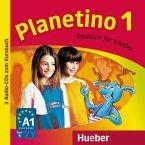 3 Audio-CDs zum Kursbuch / Planetino Bd.1