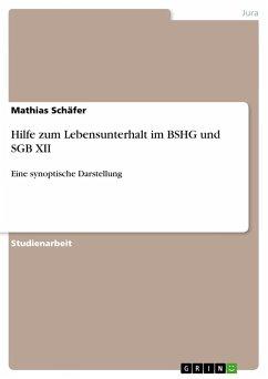 Hilfe zum Lebensunterhalt im BSHG und SGB XII