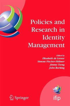 Policies and Research in Identity Management: First IFIP WG11.6 Working Conference on Policies and Research in Identity Management (IDMAN'07), RSM Era