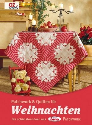 patchwork quilten f r weihnachten buch. Black Bedroom Furniture Sets. Home Design Ideas