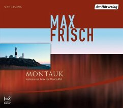 Montauk, 5 Audio-CDs - Frisch, Max