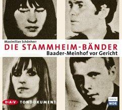Die Stammheim-Bänder, Audio-CD - Schönherr, Maximilian