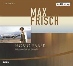 Homo Faber, 7 Audio-CDs - Frisch, Max