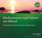 Meditationen und Gebete am Abend, Audio-CD