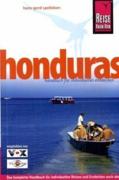 Reise Know-How Honduras - Spelleken, Hans-Gerd
