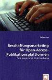 Beschaffungsmarketing für Open-Access-Publikationsplattformen