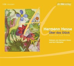 Über das Glück, 1 Audio-CD - Hesse, Hermann