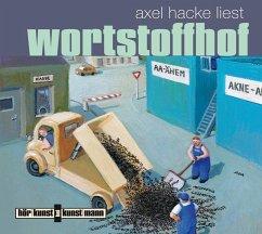 Wortstoffhof, 1 Audio-CD - Hacke, Axel