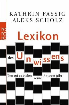 23864591n Lexikon des Unwissens – weiße Flecken in der Wissenschaft