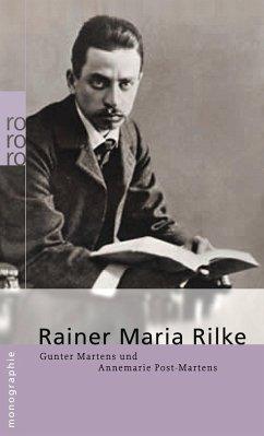 Rainer Maria Rilke - Martens, Gunter; Post-Martens, Annemarie