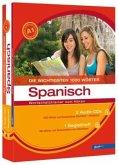 Die wichtigsten 1000 Wörter Spanisch Niveau A1, Wortschatztrainer zum Hören, 2 Audio-CDs