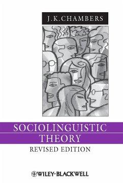 Sociolinguistic Theory 3e - Chambers