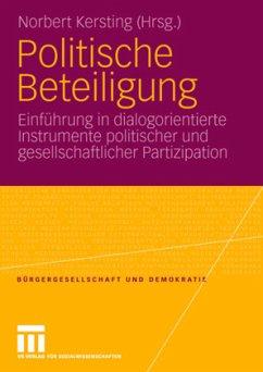 Politische Beteiligung - Kersting, Norbert (Hrsg.)