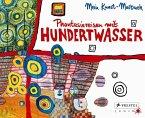 Kunst-Malbuch Hundertwasser