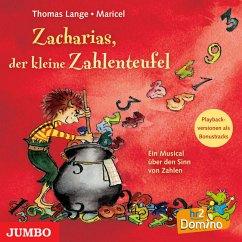 Zacharias, der kleine Zahlenteufel, Audio-CD