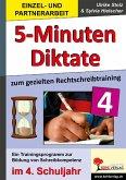 Kohls Fünf-Minuten-Diktate / 4. Schuljahr