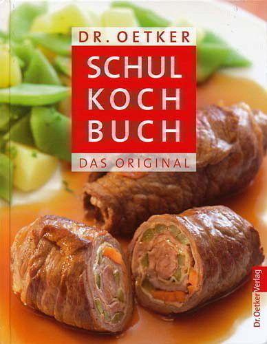 Dr. Oetker Schulkochbuch - Oetker