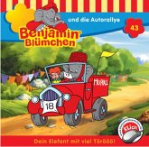 Benjamin Blümchen und die Autorallye / Benjamin Blümchen Bd.43 (1 Audio-CD)