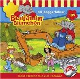Benjamin Blümchen als Baggerfahrer / Benjamin Blümchen Bd.109 (1 CD-Audio)