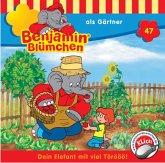 Benjamin Blümchen als Gärtner / Benjamin Blümchen Bd.47 (1 Audio-CD)