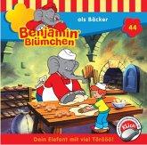 Benjamin Blümchen als Bäcker / Benjamin Blümchen Bd.44 (1 Audio-CD)