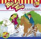 Die rätselhafte Schatzsuche / Bibi & Tina Bd.58 (1 Audio-CD)