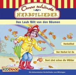 Omas schönste Herbstlieder, 1 Audio-CD