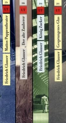 Das erzählerische Werk 1-4 - Glauser, Friedrich