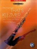 That's Klezmer, für 1-2 Klarinetten (oder Violinen) und Klavier, Klavierpartitur und Stimme, m. Audio-CD