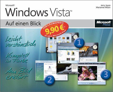Microsoft Windows Vista auf einen Blick, Jubiläumsausgabe - Joyce, Jerry; Moon, Marianne