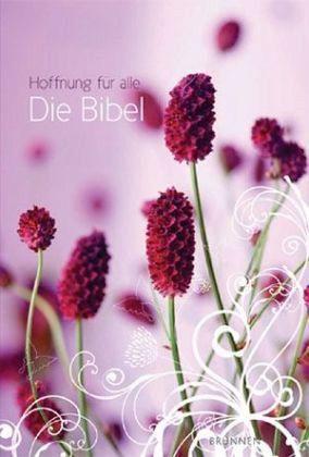 Hoffnung für alle, Die Bibel, Flower Edition 1, pink