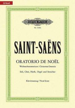 Oratorio de Noel op.12, Klavierauszug - Saint-Saëns, Camille