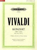 Konzert für 2 Violinen, Streicher und Basso continuo a-Moll op.3,8 RV 522, Klavierpartitur und Violinstimmen
