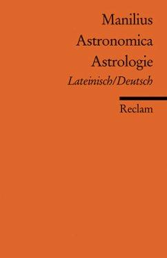Astronomica /Astrologie - Manilius, Marcus