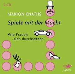 Spiele mit der Macht, 2 Audio-CDs - Knaths, Marion
