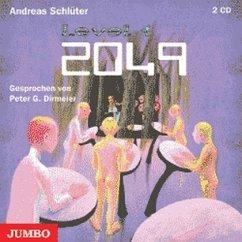 2049, 2 Audio-CDs - Schlüter, Andreas