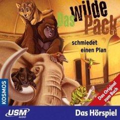Das wilde Pack schmiedet einen Plan / Das wilde Pack Bd.2 (Audio-CD)