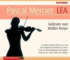 Lea, 6 Audio-CDs - Mercier, Pascal