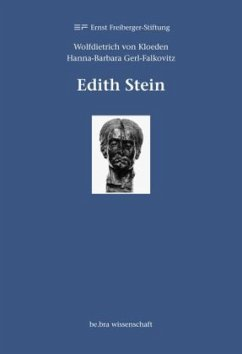 Edith Stein - Kloeden, Wolfdietrich von;Gerl-Falkovitz, Hanna-Barbara
