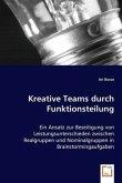 Kreative Teams durch Funktionsteilung