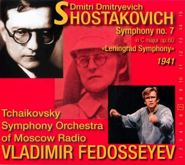 sinfonie 7 leningrad von fedoseyev tschaikovsky symphony orchestra auf audio cd portofrei. Black Bedroom Furniture Sets. Home Design Ideas