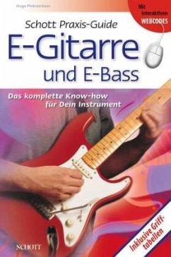 Schott Praxis-Guide E-Gitarre und E-Bass