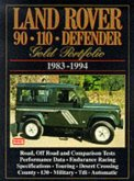 Land Rover 90/110 Defender Gold Portfolio, 1983-94