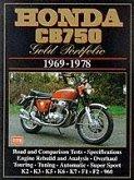 Honda CB750 Gold Portfolio, 1969-78